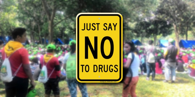 Sesi Jambore: Say No to Drugs